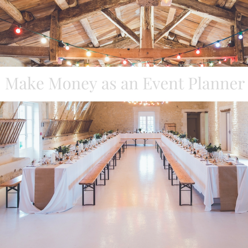 how to make money as an event planner event planning blueprint