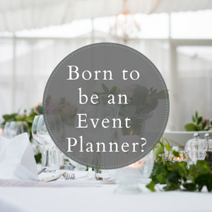 be an event planner