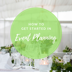 get started in event planning