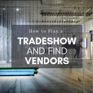 plan a tradeshow