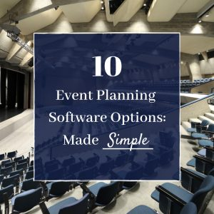 event planning software