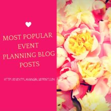 Our Most Popular Event Planning Blog Posts