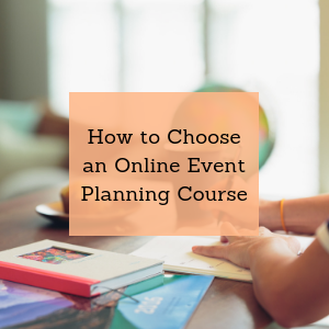 online event planning courses