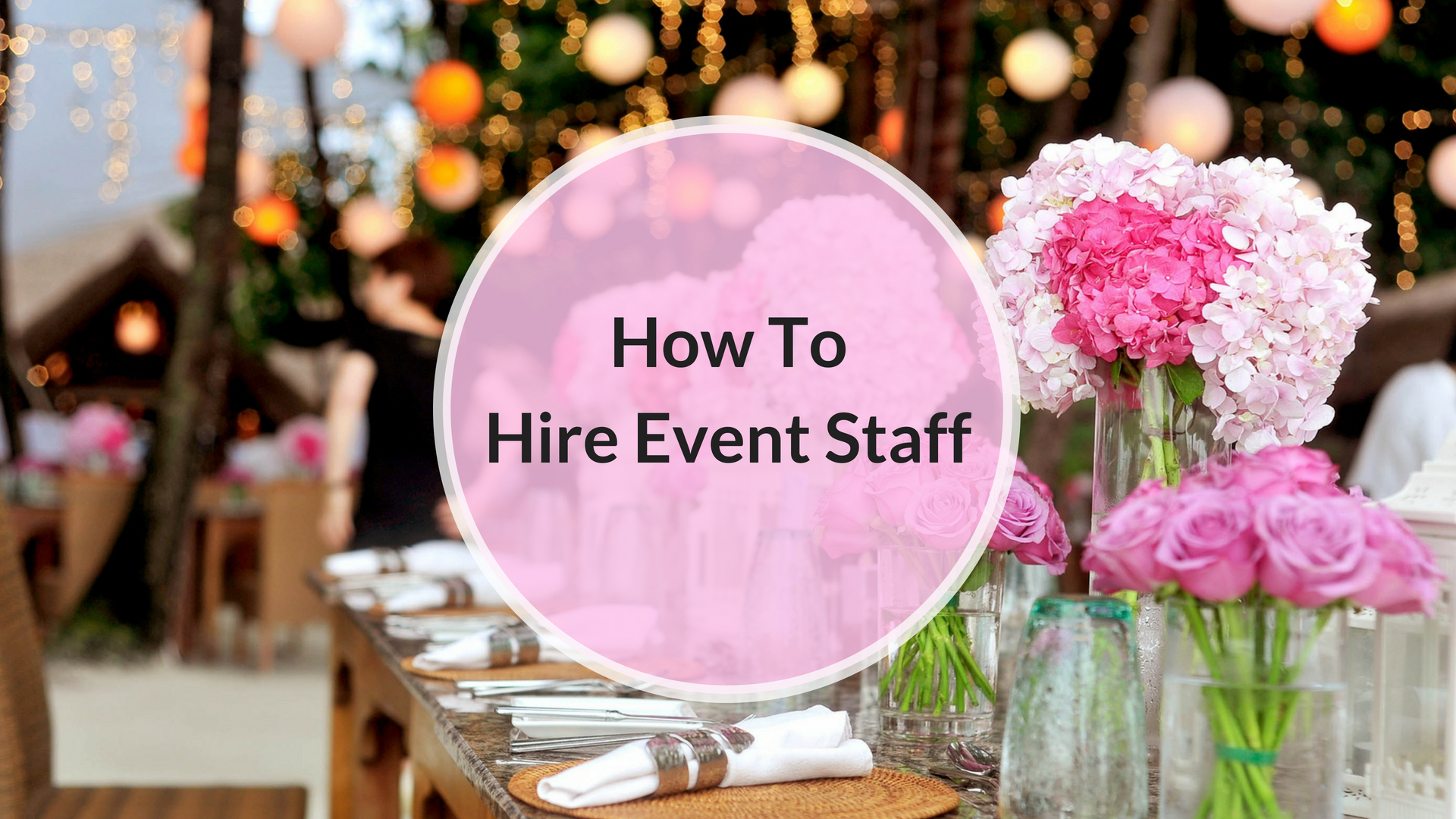 hire event staff