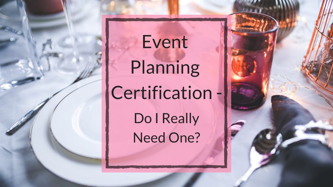event certification
