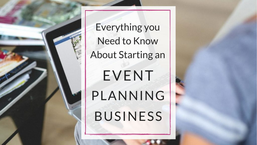 starting an event planning business