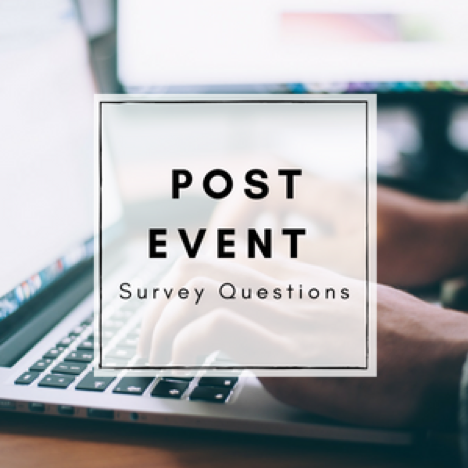 post event survey questions event planning blueprint
